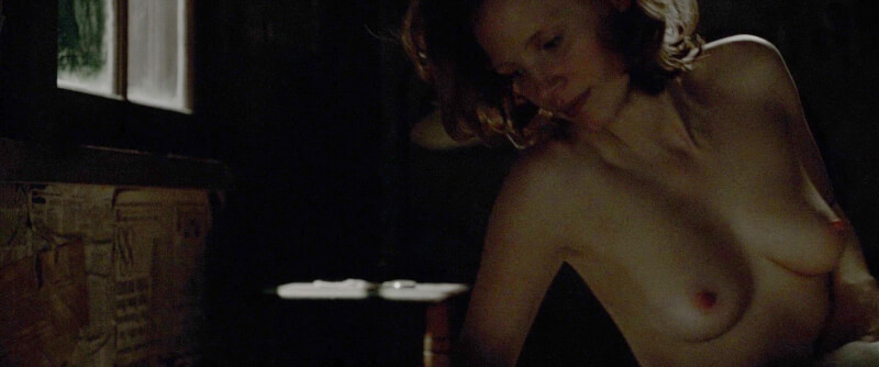 Jessica Chastain nude – Lawless (2012)
